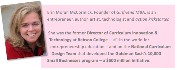 Erin Moran McCormick, Founder of Year of Action and the Girlfriend MBA