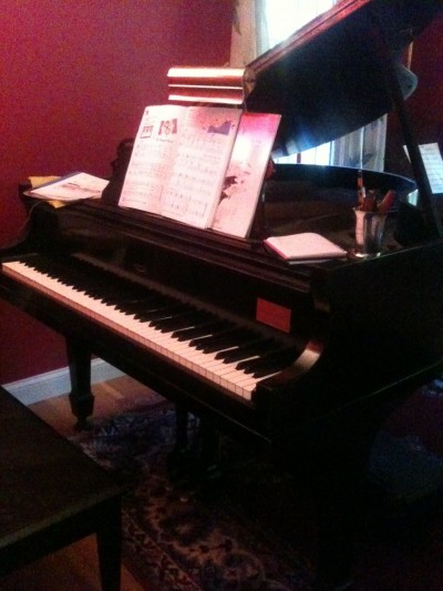 Blood, Sweat & Tears – How NOT playing the piano helped me grow my business