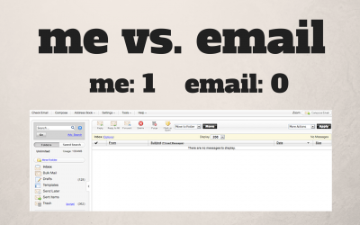 How I (finally!) figured out how to manage my email – and the stress